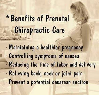 Did you Know Chiropractic Care Can Benefit You And Your Baby's Health While You Are Pregnant?