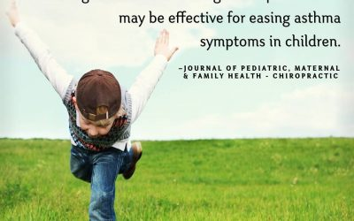 Does asthma limit your child's everyday tasks? Chiropractic may be able to help!